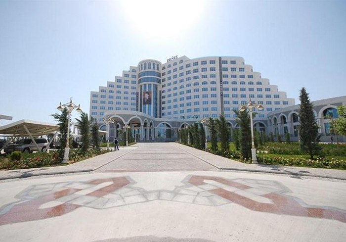 Türkmenistan - Türkmenbaşı Deniz Derya Yolları Otel